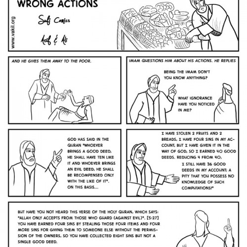 Justifying Wrong Actions